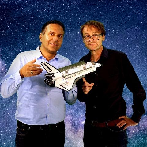 Weltraumwagner: Dirk Wagner udn Oliver Günther