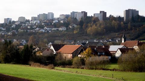Hochhaussiedlung Aschenberg in Fulda
