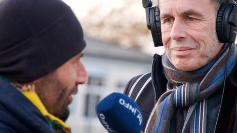 Unser Politik-Redakteur Christoph Käppeler in Aschenberg