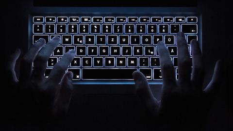 Cyberkriminalität Tastatur