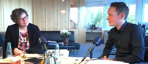Bischöfin Beate Hofmann im Interview  mit Christoph Scheld