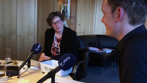 Beate Hofmann im Interview mit Christoph Scheld