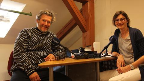 Christian Nickel im Gespräch mit Mariela Milkowa