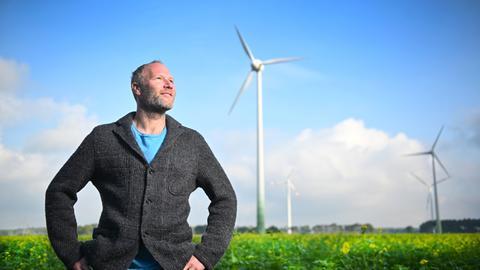Daniel Hautmann, Autor und Windkraftexperte