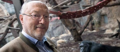 Manfred Niekisch im Zoo