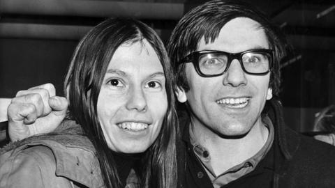 Gretchen und Rudi Dutschke im Jahr 1970