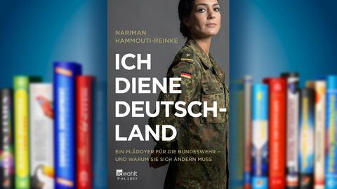 """Buchcover von """"Ich diene Deutschland"""" der Autorin Nariman Hammouti-Reinke"""
