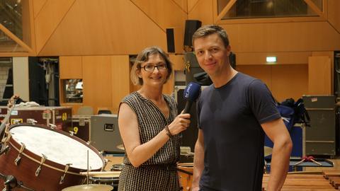 Martin Grubinger und Mariela Milkowa