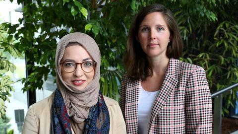 Khola Hübsch und Isabel Reifenrath