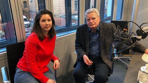 Joachim Gauck mit Isabel Reifenrath