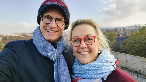 Katrin Linke und Karsten Brensing