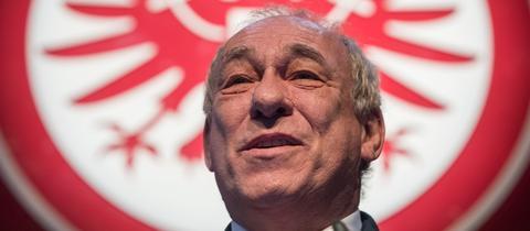 Peter Fischer, Präsident von Eintracht Frankfurt