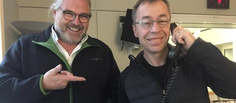 Stefan Bücheler (l.) mit Ralf Groene