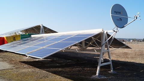 Solartainer in Deutschland mit Internetkapazität