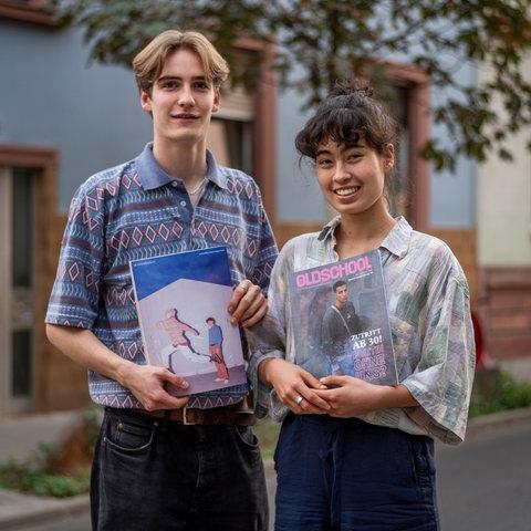 Tim Evers und Lena Schumacher