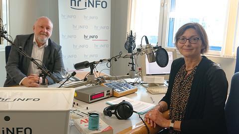 Werner D'Inka und Mariela Milkowa