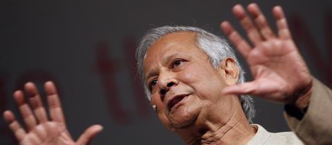 Muhammad Yunus spricht