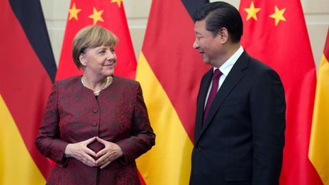 Angela Merkel bei Xi Jinping
