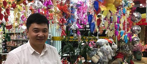 China Weihnachten Deko