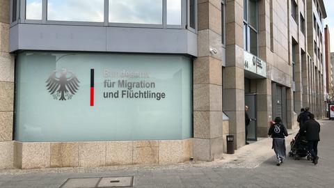 Das Bundesamt für Flüchtlinge und Migration in Berlin