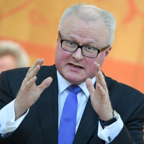 Finanzminister Thomas Schäfer