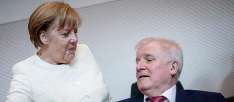 Seehofer Merkel