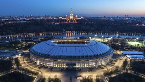 Das WM-Stadion Luschniki