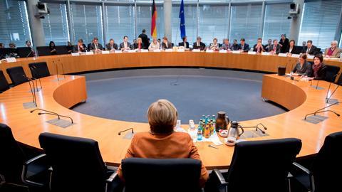 Angela Merkel als Zeugin vor dem NSA-Untersuchungsausschuss