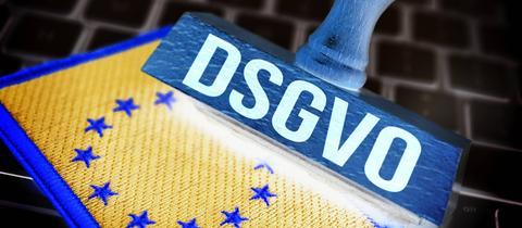 Stempel mit der Aufschrift DSGVO