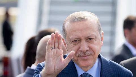 Erdogan in Berlin