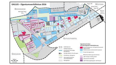 Das Gallusviertel im Jahr 2016
