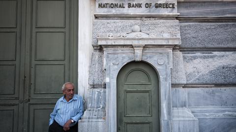 Rentner in Griechenland