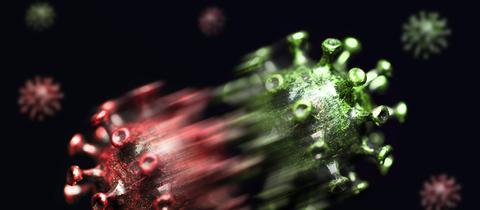 Symbolbild: Das Coronavirus mutiert