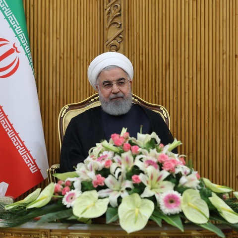 Hassan Rouhani, Präsident des Iran