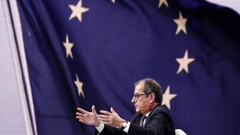 Italiens Wirtschafts- und Finanzminister Giovanni Tria