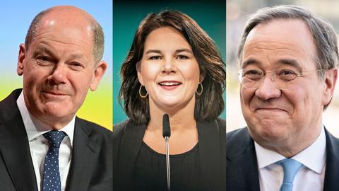 Kanzlerkandidatinnen Bundestagswahl 2021
