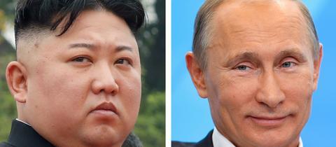 Kim Jong-un und Wladimir Putin