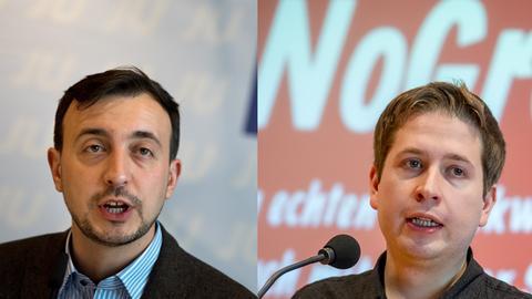 Kevin Kühnert und Paul Ziemiak