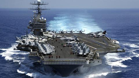 US-Flugzeugträger auf dem Weg nach Nordkorea