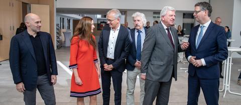 Die Spitzenkandidaten der sechs Parteien, die in den hessischen Landtag gewählt wurden