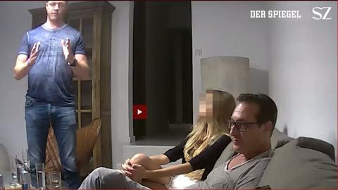 Strache-Video (Screenshot)