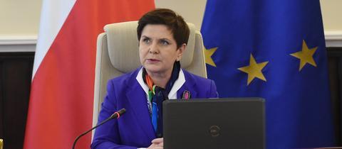 Polens Ministerpräsidentin Beata Szydło