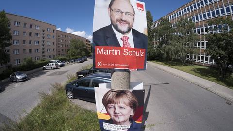 Bundestagwahl Wahlplakate