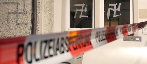 Rechtsextremismus Hakenkreuze