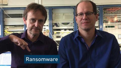 Ransomware Cybercrime Screenshot