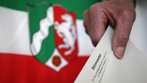dpa Wahl NRW