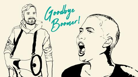 Jung. Macht. Politik. Goodbye, Boomer!