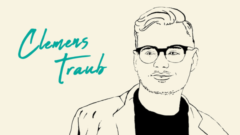 Clemens Traub gezeichnet