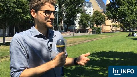 """Man solle """"auch mal auf die jungen Leute hören"""", sagt Yannick Schwander, stellvertretender Landesvorsitzender der Jungen Union in Hessen."""