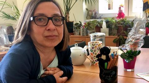 Familienrichterin Heidi Fendler in ihrem Dienstzimmer